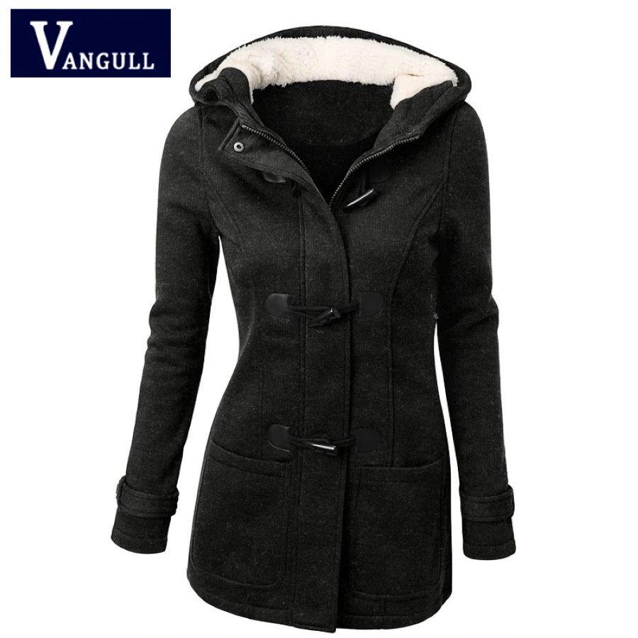 Gabardina para mujer primavera otoño 2018 abrigo largo