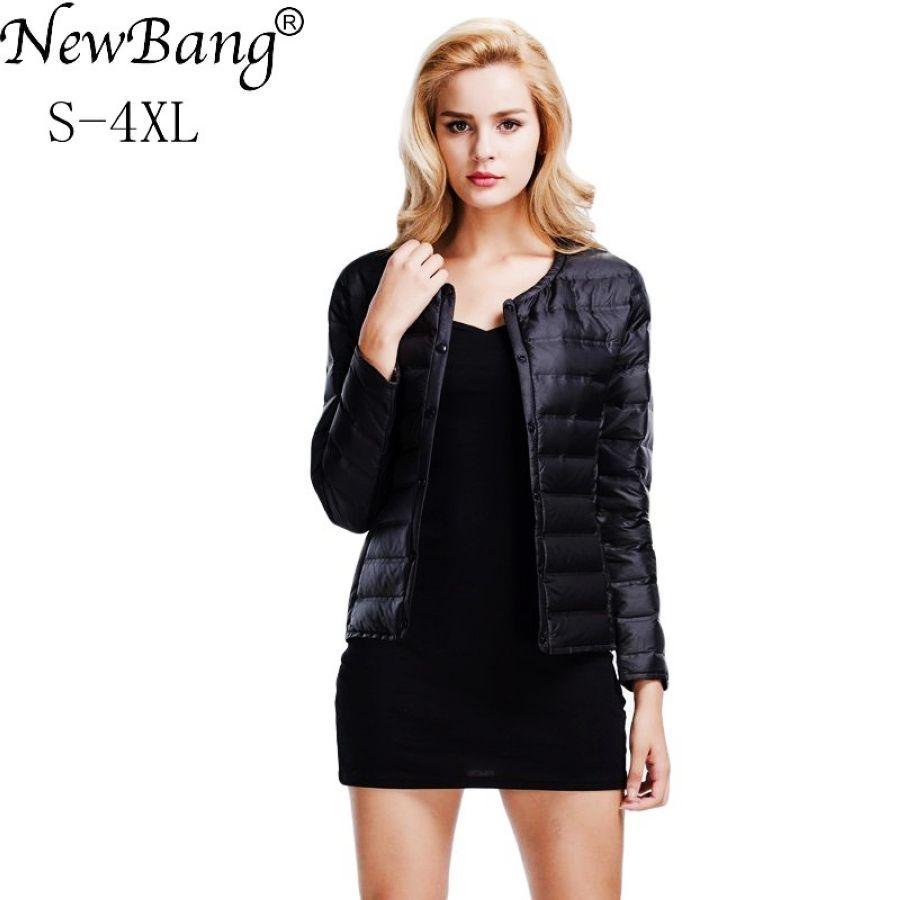 Abrigo de plumas de newbang chaqueta de plumón ultralig