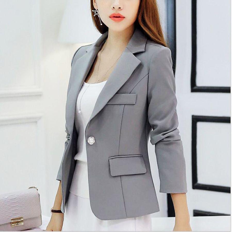 Womens Blazer Jackets And Coats Slim Fit Women Formal Blazer