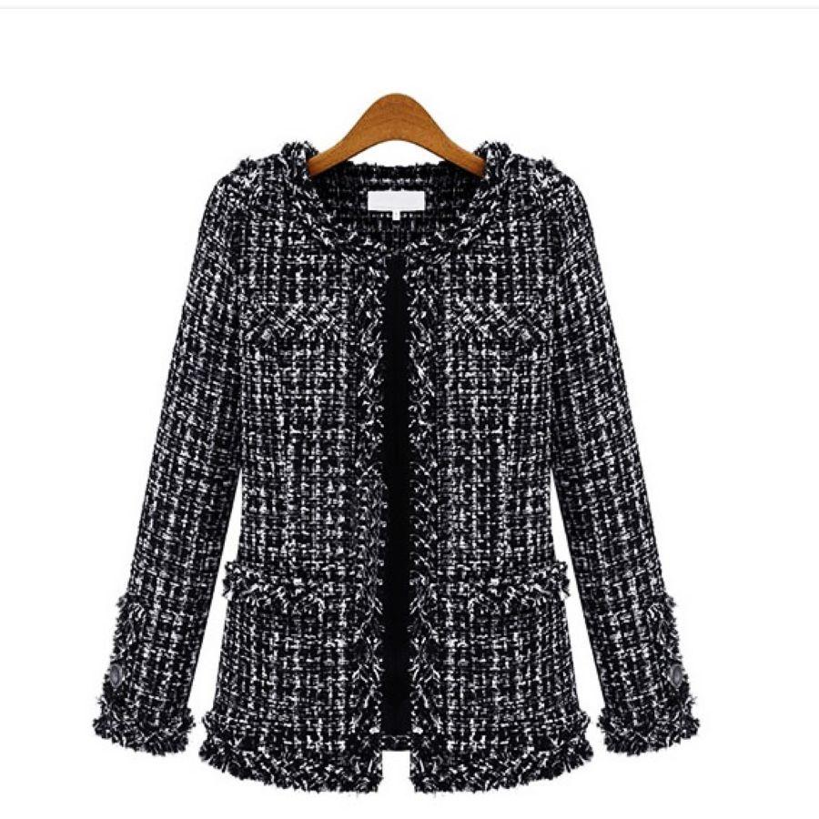 Nueva chaqueta de manga larga de otoño-invierno para mu