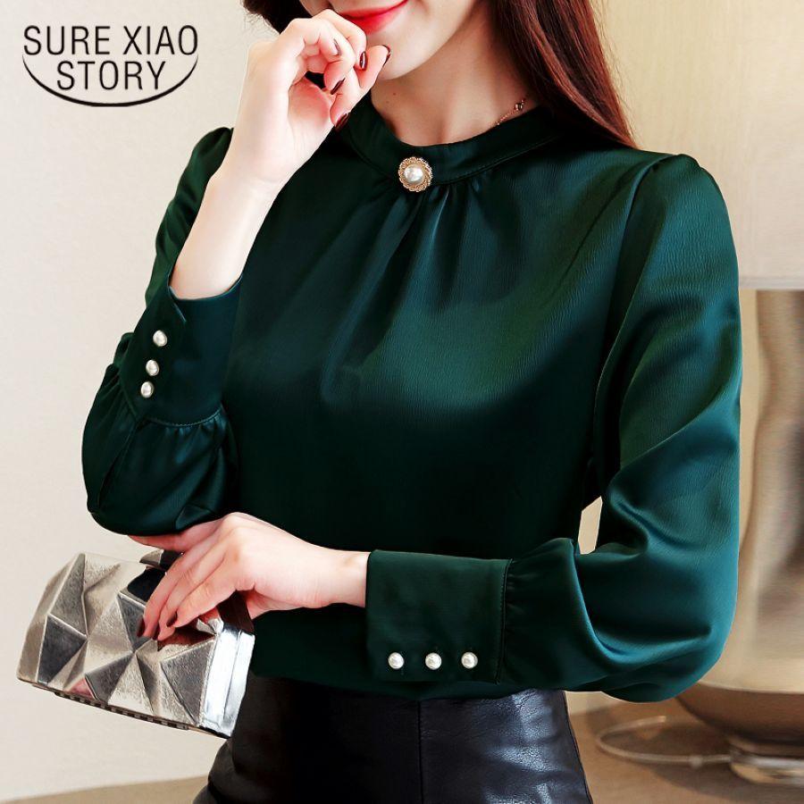 Blusas Mujer De Moda Long Sleeve Women Shirts Womens To