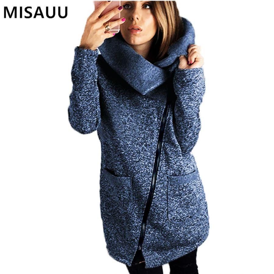 Misauu 5xl chaqueta de invierno de mujer abrigo largo d