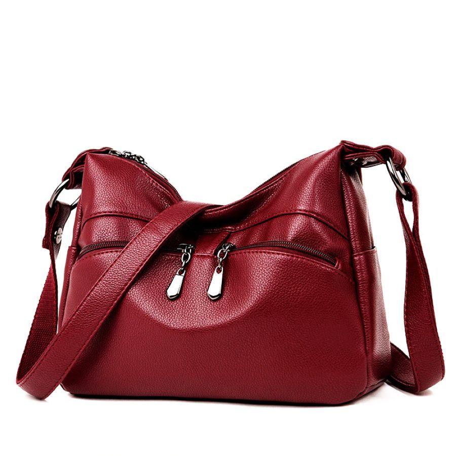 Womens Shoulder Bag Pu Leather Handbags Messenger Crossbody Bags For