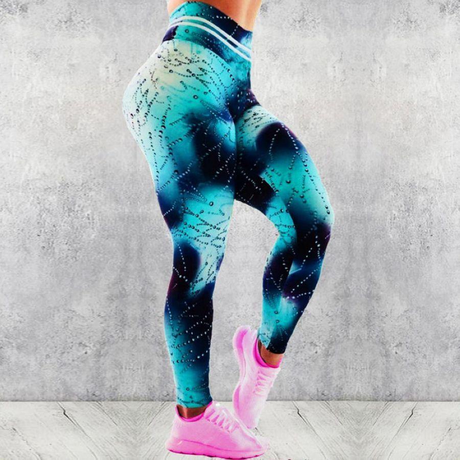 Leggings Women Women Dreamweb Printed Leggings High Waist Fitness Leggings