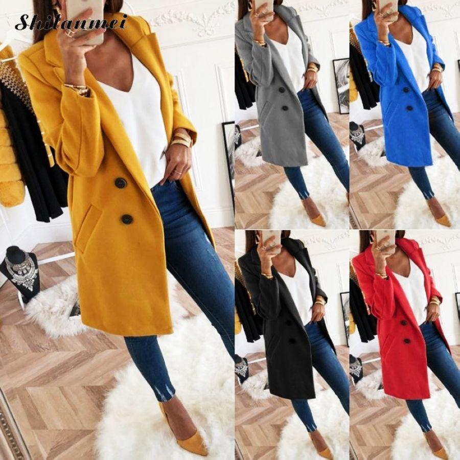 Autumn Winter Suit Blazer Women Formal Slim Work Office Ladies