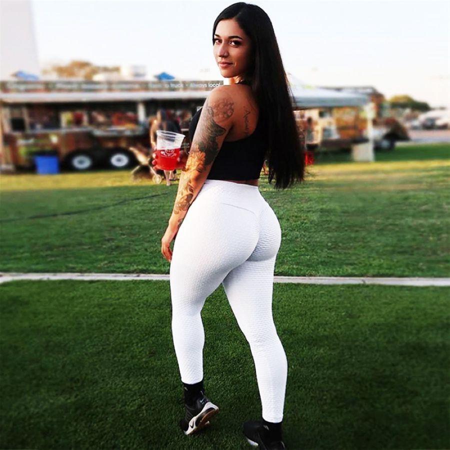 Leggings Women High Waist Fitness Leggings Push Up Legging Polyester