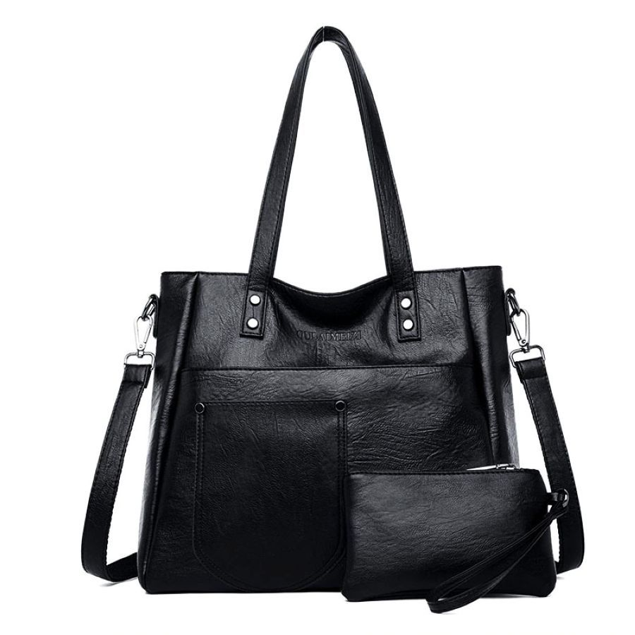 Women Leather Handbags Luxury Brand Bags Large Capacity Purses And