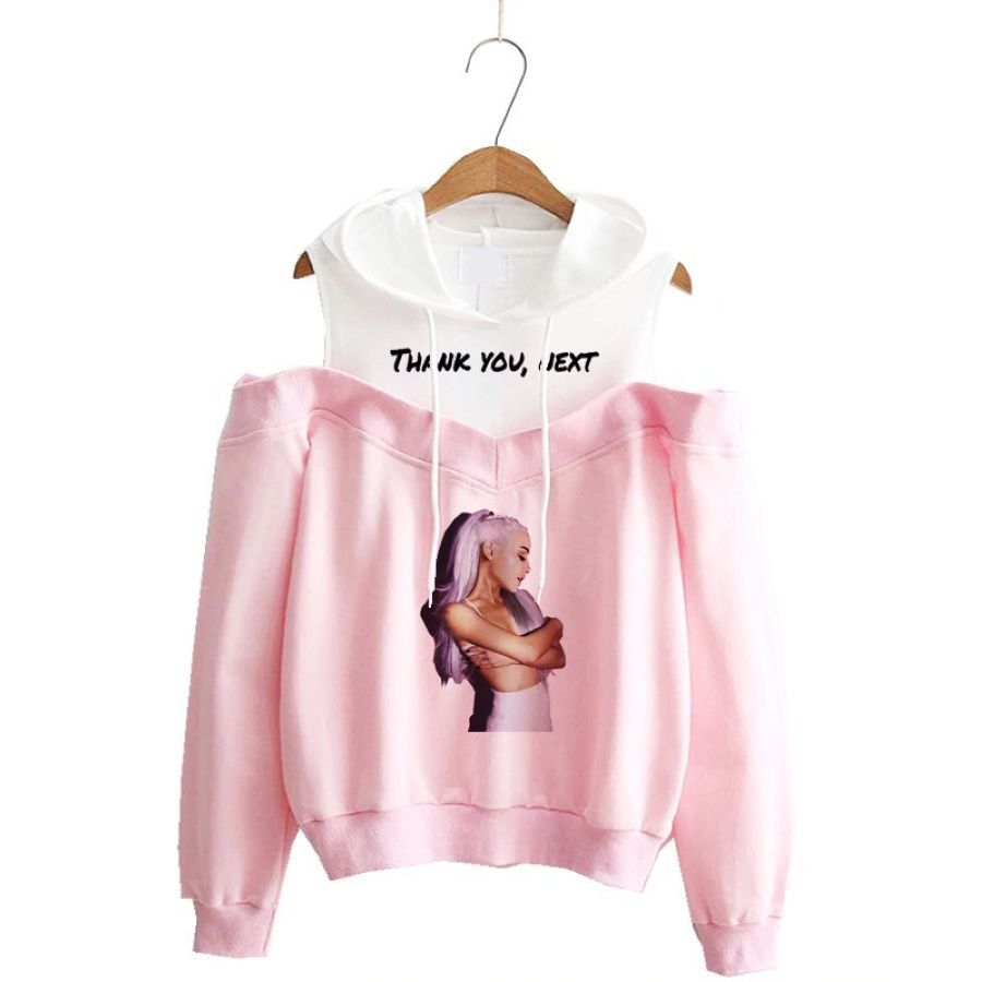 Ariana Grande Sweatshirt No Tears Left To Cry Hoodie Women