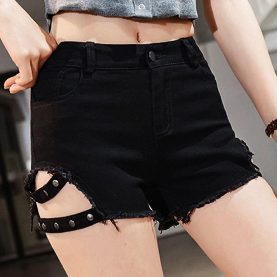 Pantalones cortos sexis de verano para mujer pantalones