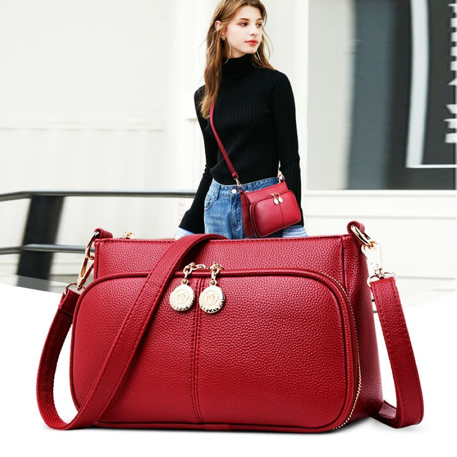 2019 New Crossbody Bags For Women Soft Leather Purses And