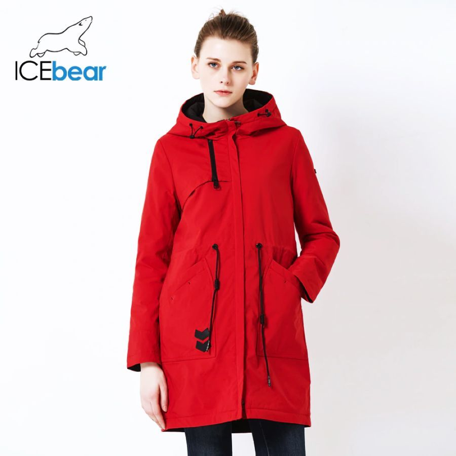 Icebear 2019 New Sports Ladies Casual Jacket Windproof Warm Spring