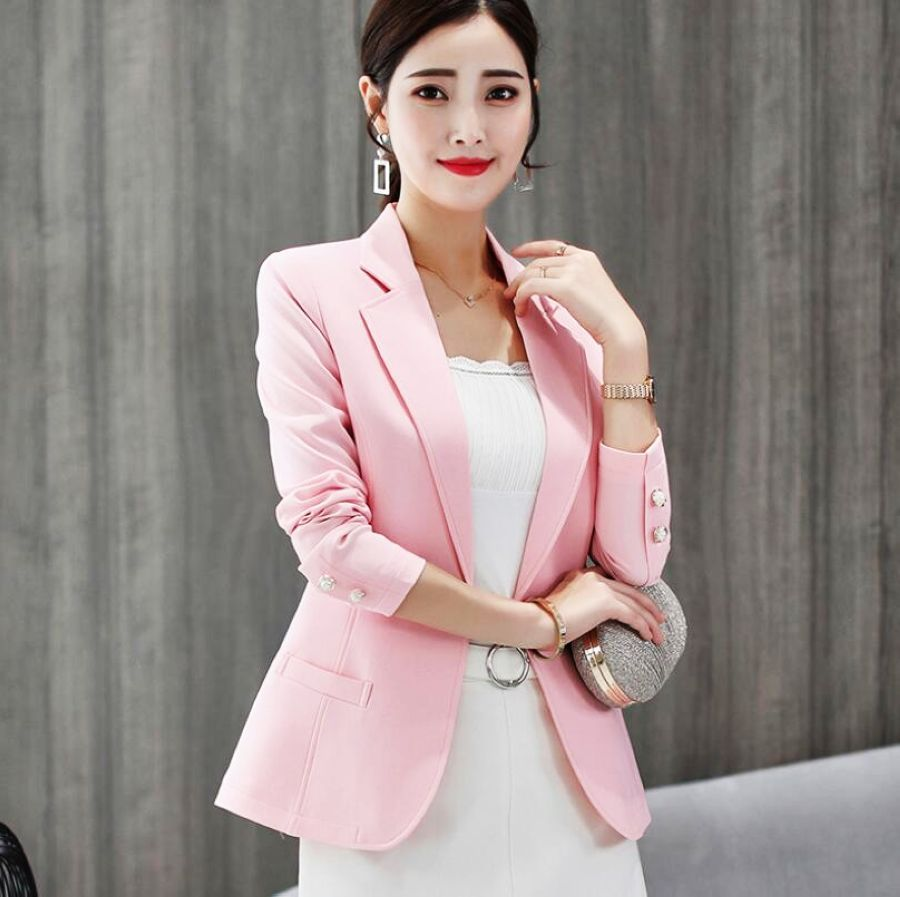 Fashion womens clothing blazer suits blazers four colors for choose