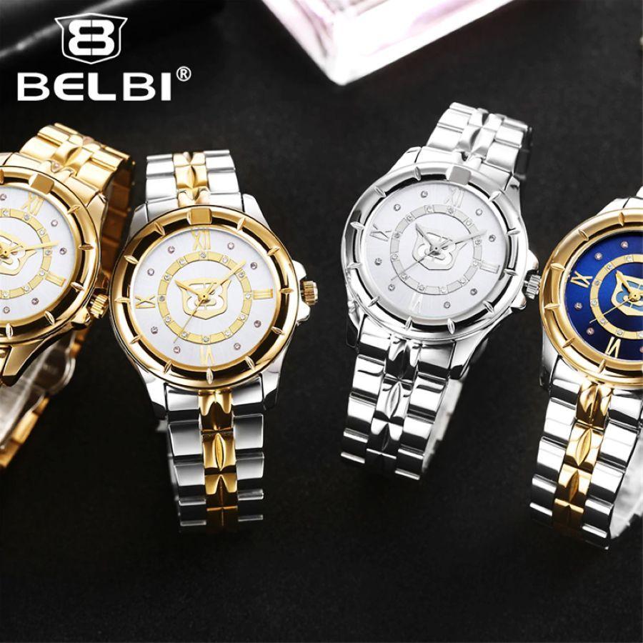 Top Brand Belbi Women Watch Diamond Dress Watches High Quality