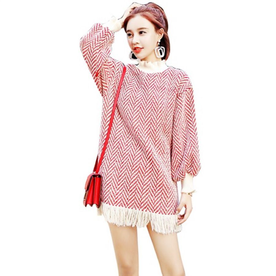 High Collar Womans Pullover Thicken Sweater Fashion 2019 New Autumn
