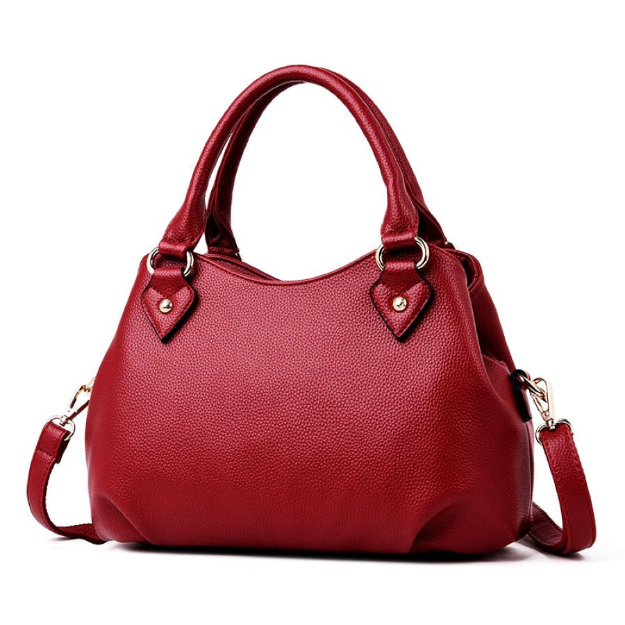 2019 New Fashion Genuine Leather Women Handbag Brand Luxury Leather