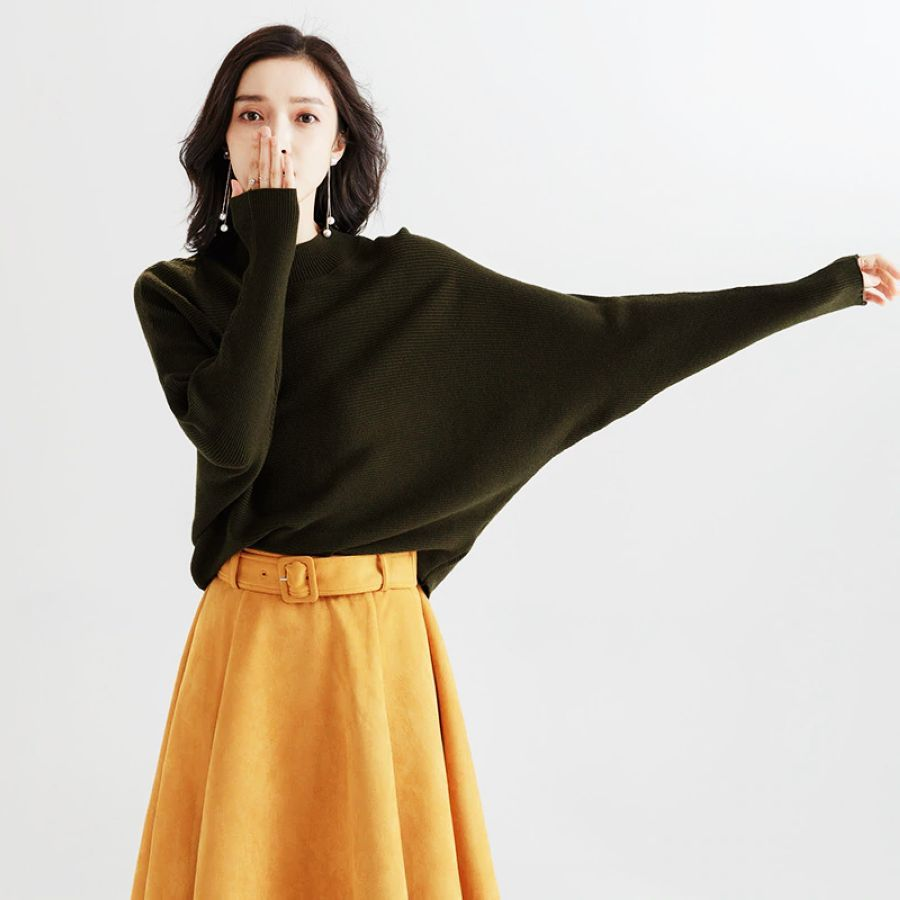 2019 Spring And Autumn New O-Neck Long Sleeve Loose Pullover