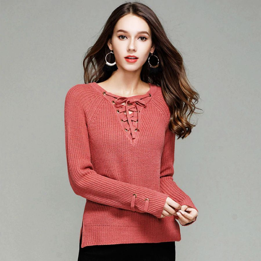 2019 New Fashion Women Sweater Slim Fit Upper Outer Garment