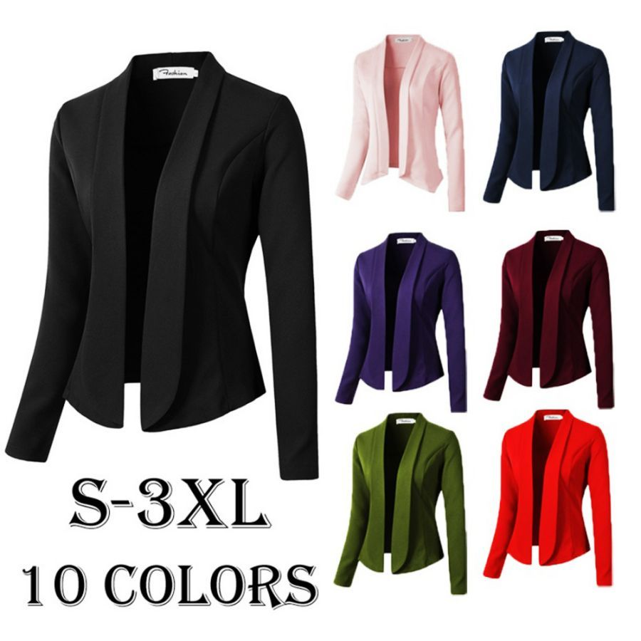 Women Coat Casual Jacket 2019 Fashion Work Office Lady Suit