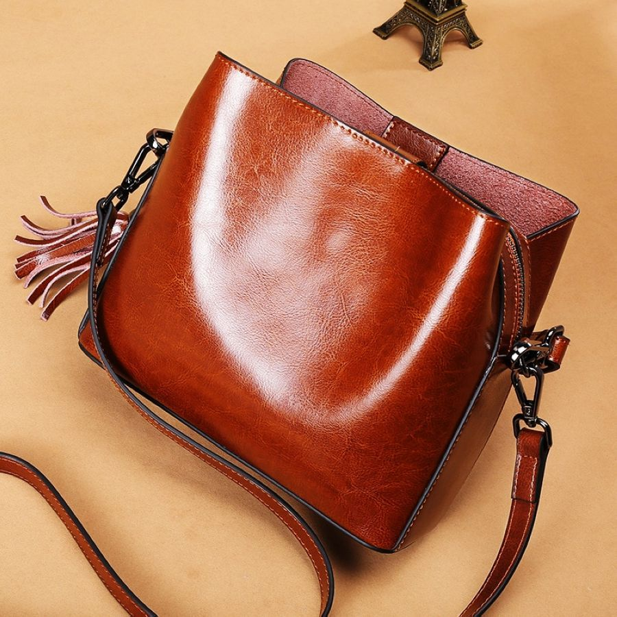 2019 Fashion Genuine Leather Bags For Women Crossbody Shoulder Bag