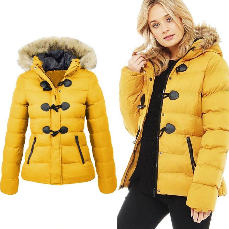 Winter Jacket Women 2019 Snow Coat Women Casual Fur Collar