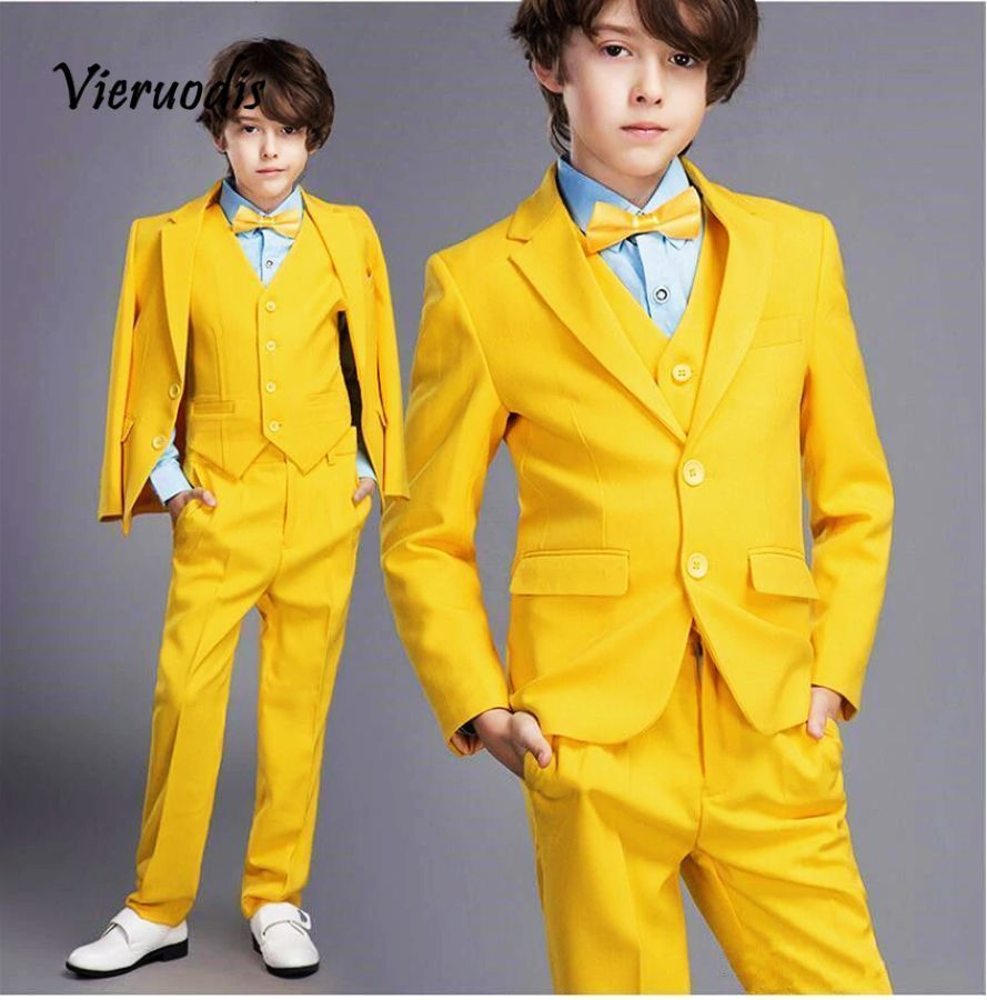 Blazer Boy Formal Suit Wedding Boys Clothes Set Jackets Blazer
