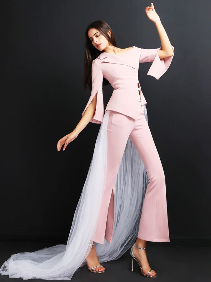 High Quality Women Suits Pants Suit Office Lady Outfits Femme