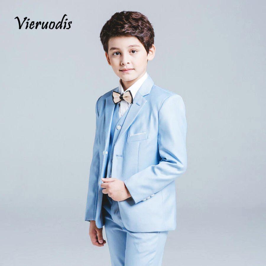 sale usa online wholesale online best website Wedding Party Dresses - Boys Blue Wedding Suit Slim Fit Suit Boys ...