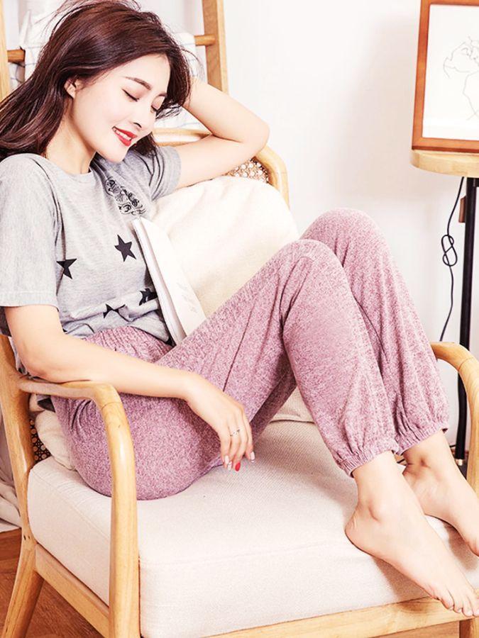 Mianziduo 2019 New Fashion Womens Sweatpants High Elasticity Free Shipping