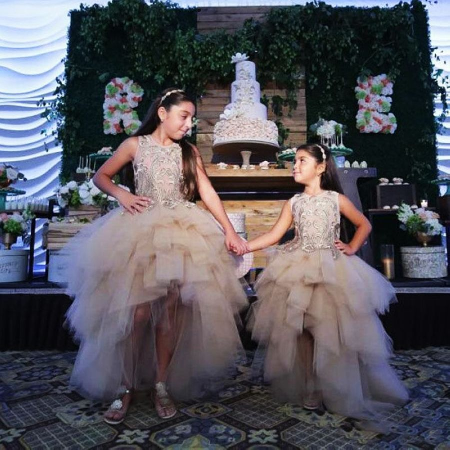 Classy High Low Flower Girl Dresses Special Occasion For Weddings