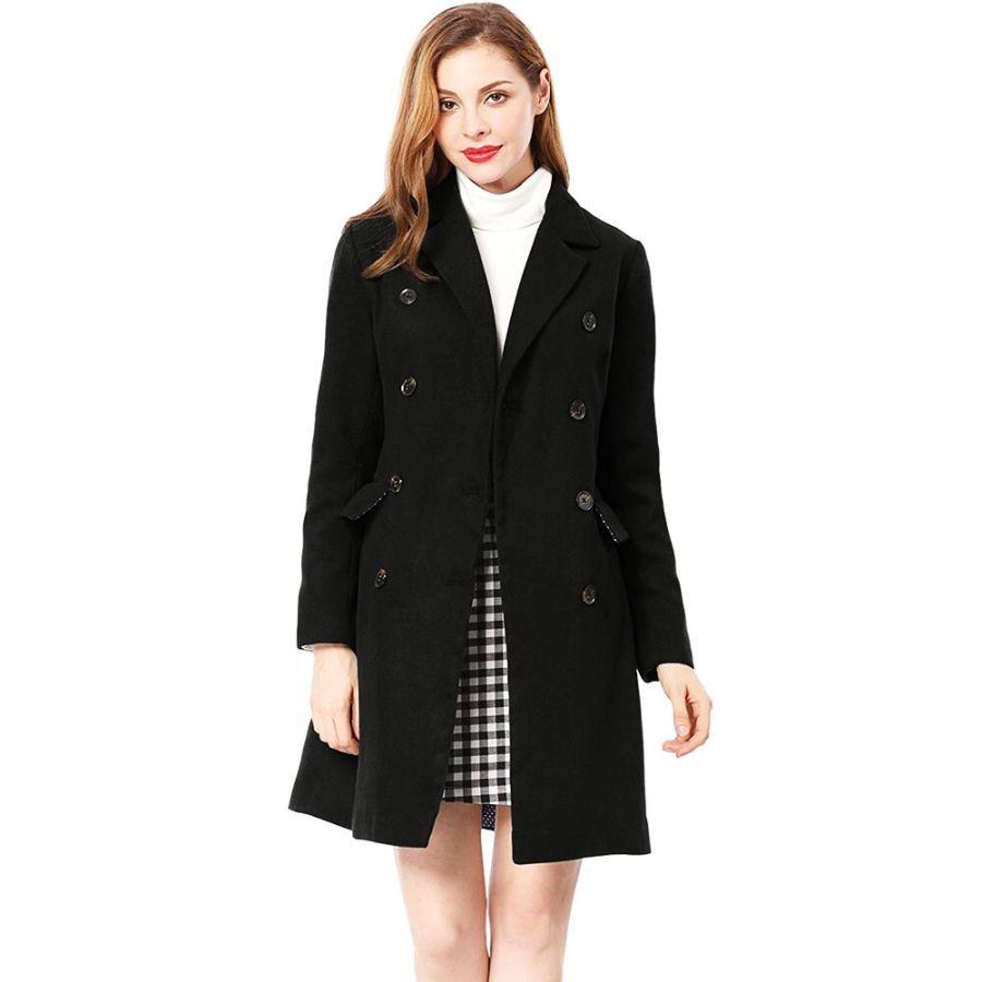 2019 New 4 Colors Hot Sale Woman Wool Coat Winter