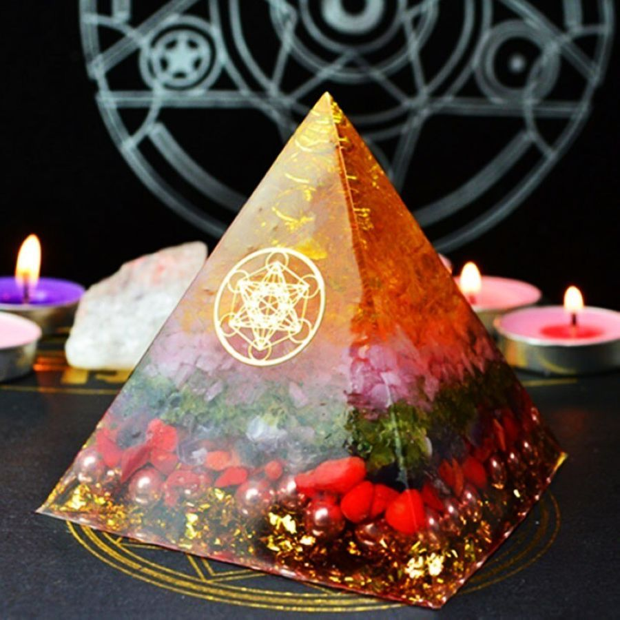 Orgonite Energy Pyramid Decoration Orgone Accumulator Stone That Changes The