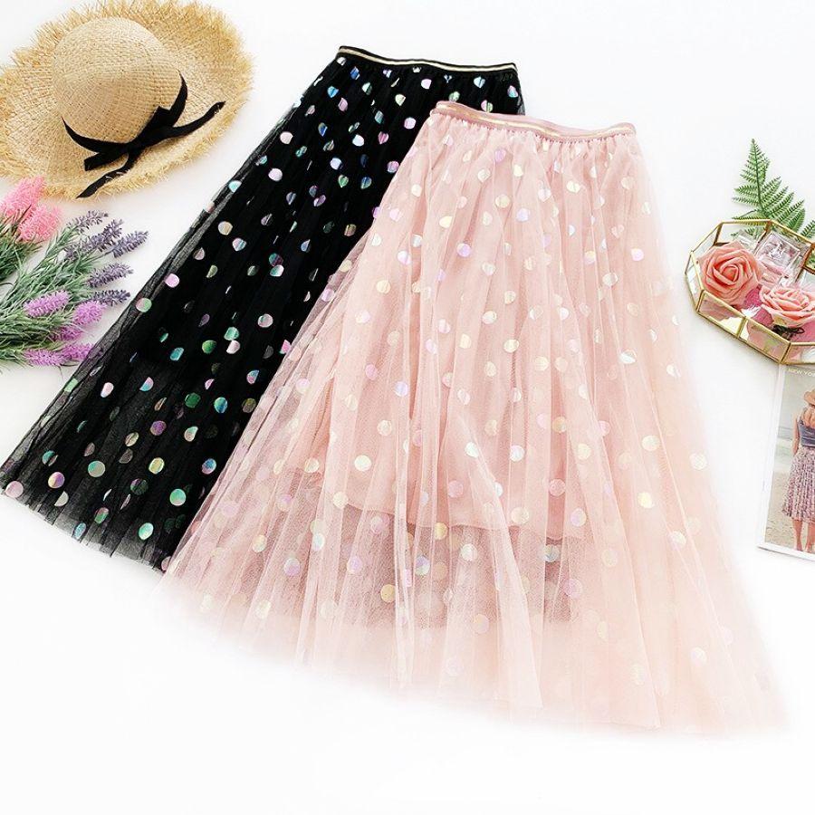Wasteheart Spring Pink Women Skirt Casual High Waist A-