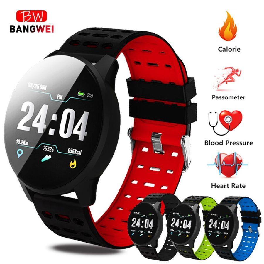 2019 Bangwei New Smart Health Watch Blood Pressure Heart Rate