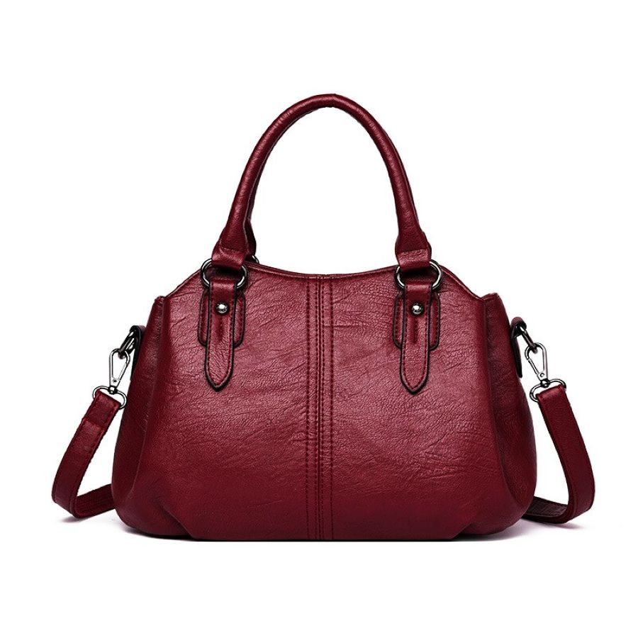 2019 New High Quality Female Tote Womens Genuine Leather Shoulder