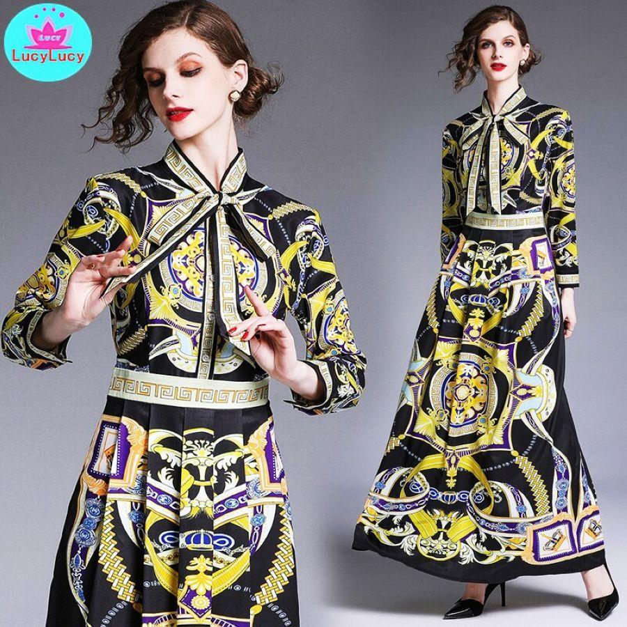 2019 primavera y verano moda europea y americana versát