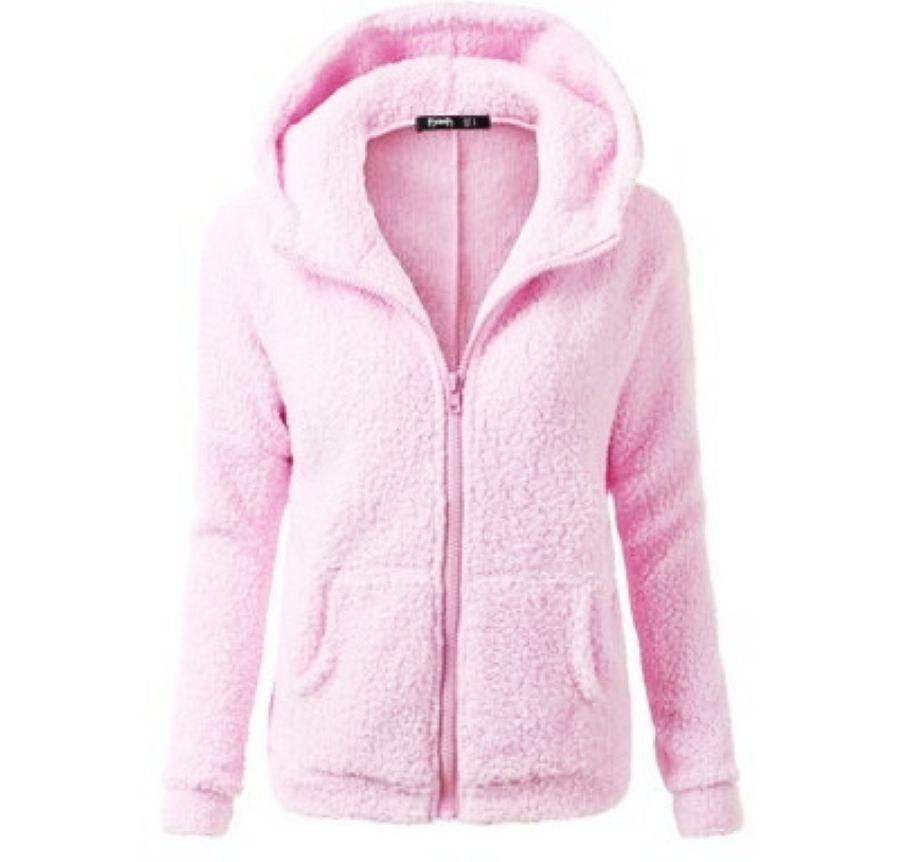 New Fashion Women Winter Keep Warm Wool Blends Overcoat Lady