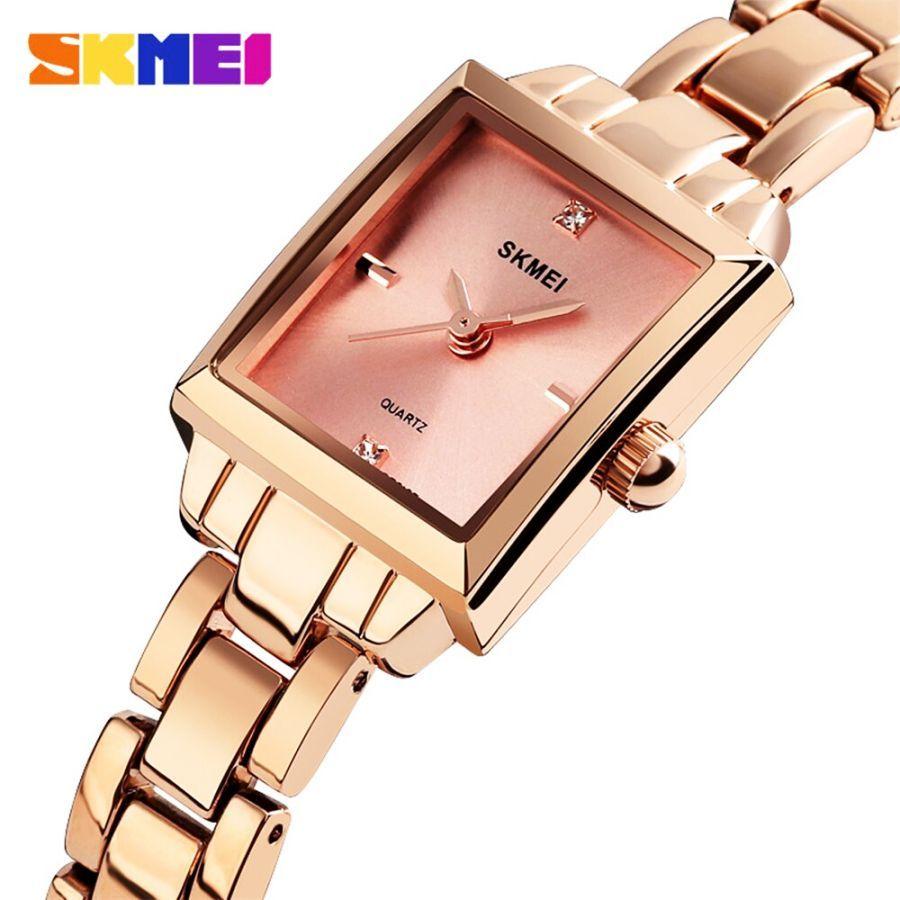 2019 Skmei Luxury Brands Women Quartz Watches Ladies Watch Metal