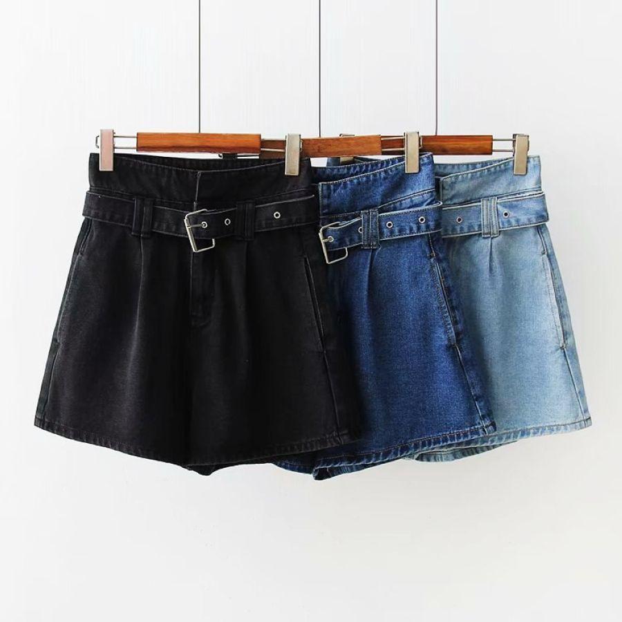 De moda de verano de las mujeres de cintura alta pantal