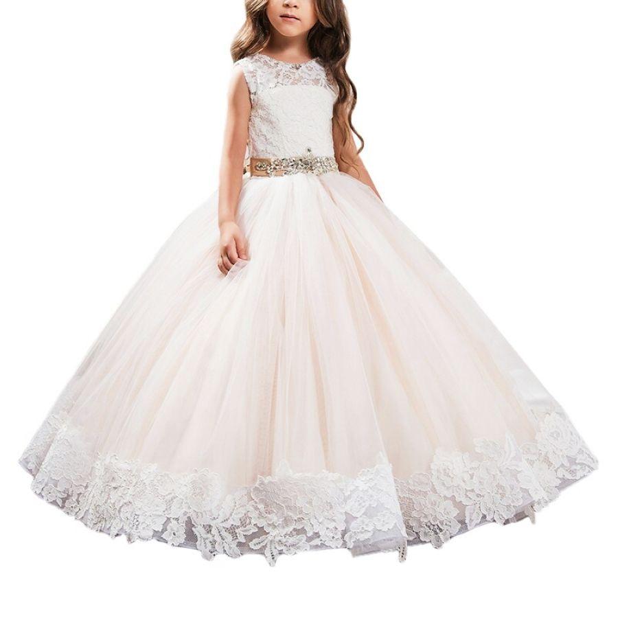 Kids Holy Communion Dresses For Wedding Birthday Party Bling Bling