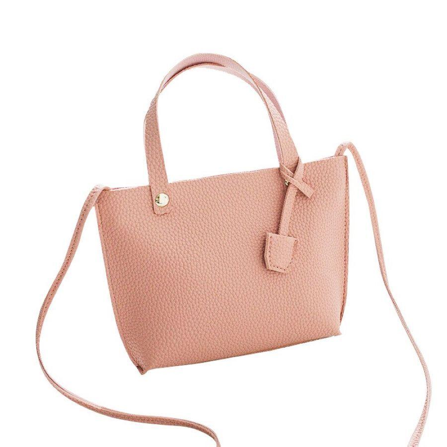 Pu Bucket Type Ladies Portable Change Bag High Quality Messenger