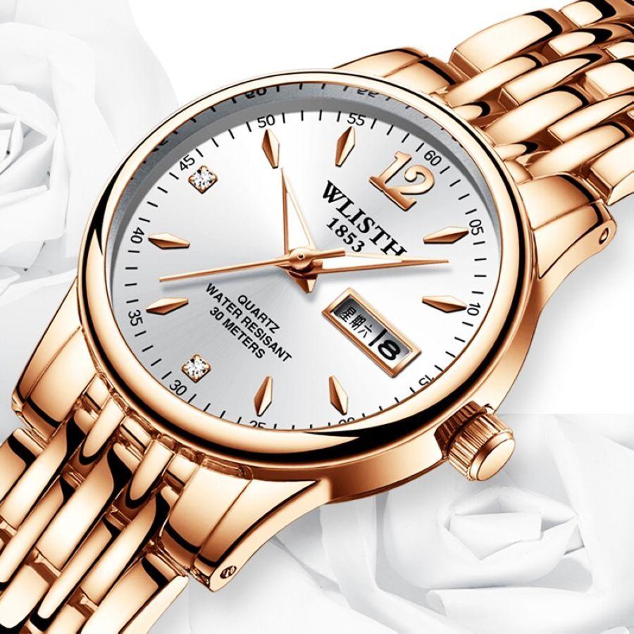 Wlishi Watch Women Reloj Mujer Luxury 3bar Relogio Masculino Fashion