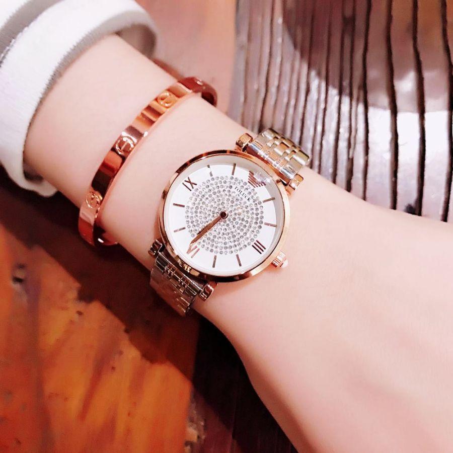 2019 New Fashion Brand Genuine Women Watches Trend Diamond Waterproof
