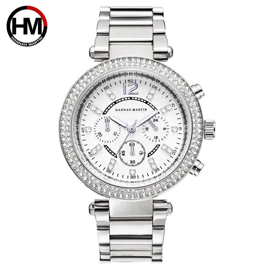 Watch Women Luxury Brand Women Quartz Watches Silver Steel Ladies