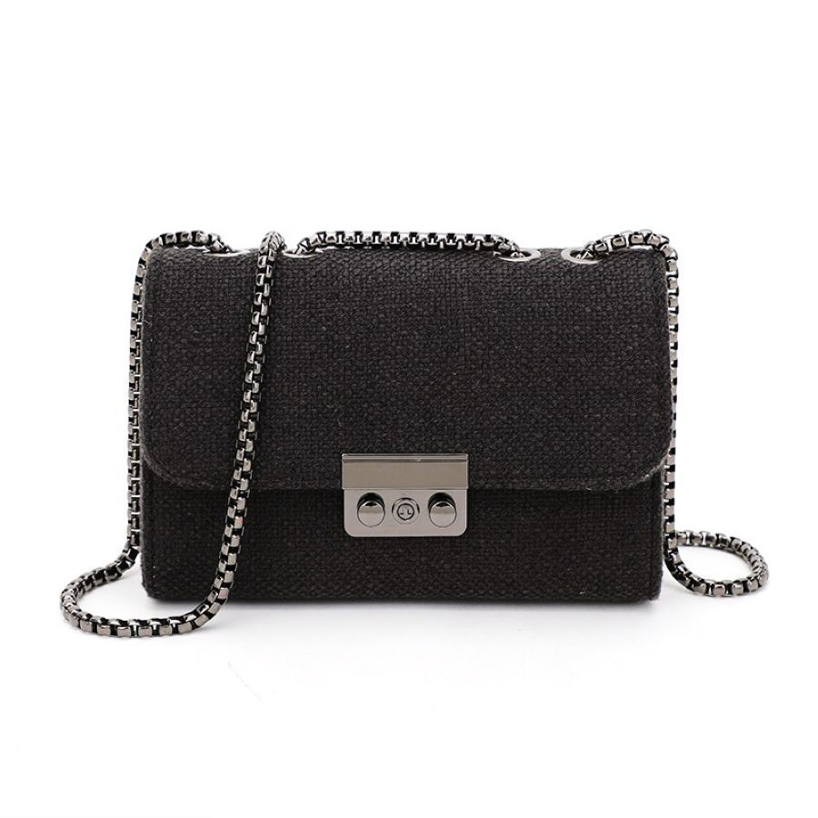 2019 Fashion European Women Brand Design Small Square Shoulder Bag