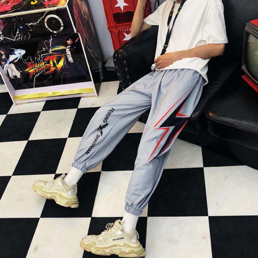 Pantalones rectos de cintura alta elásticos para mujer